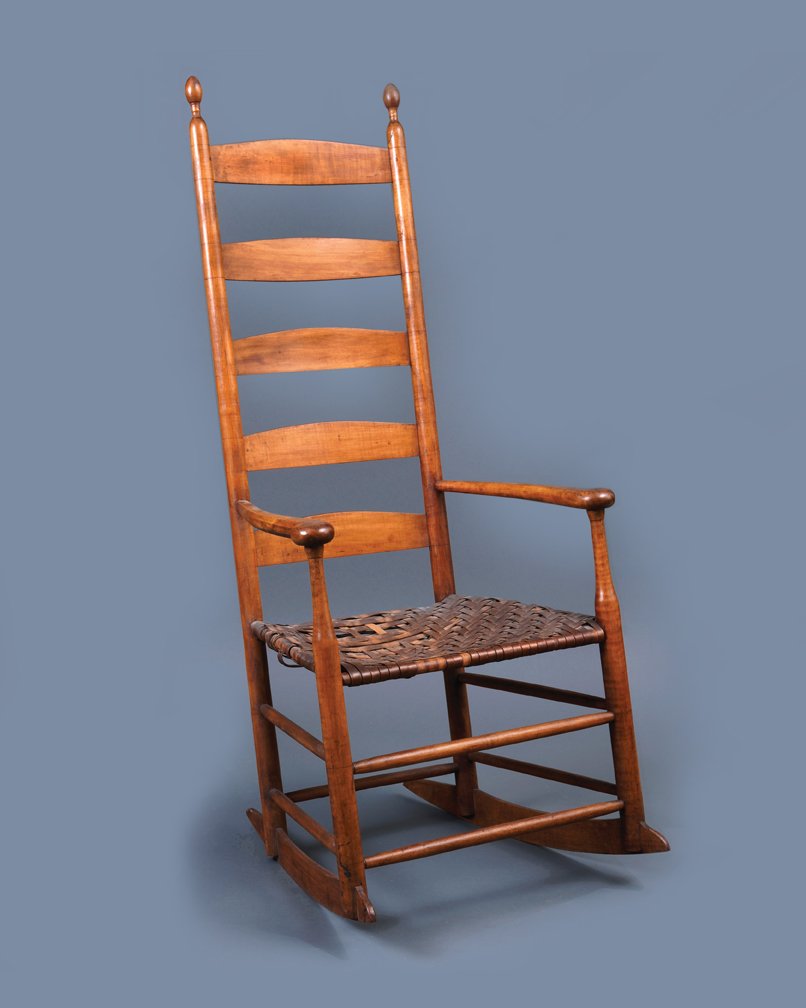 Lot 40, Very Rare Elder's Rocking Chair
