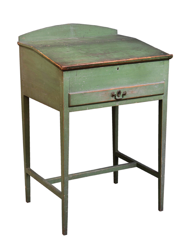 Lot 5, Green Desk by Alfred Collier